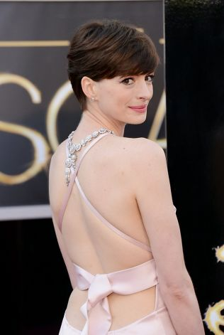 Anne Hathaway was named best supporting actress. Photo: Jason Merritt, Getty Images