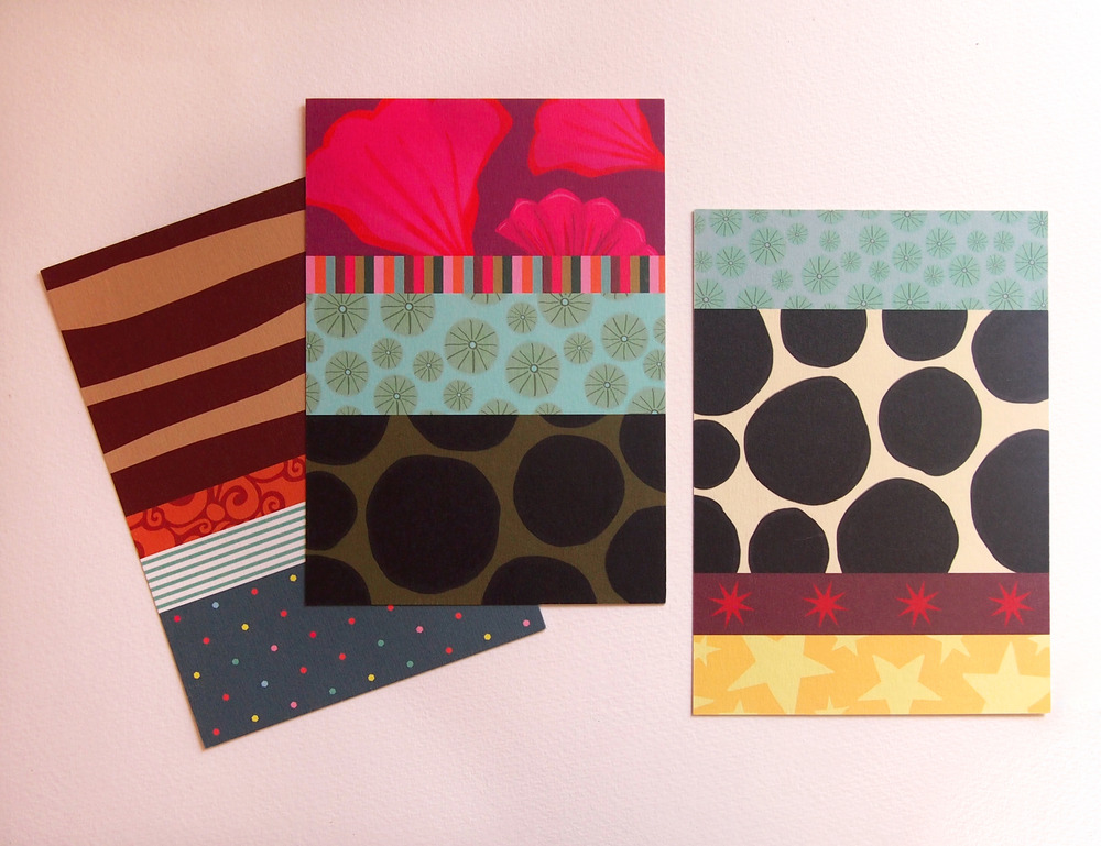 Image of Les cartes (très) colorées pour la correspondance et la décoration
