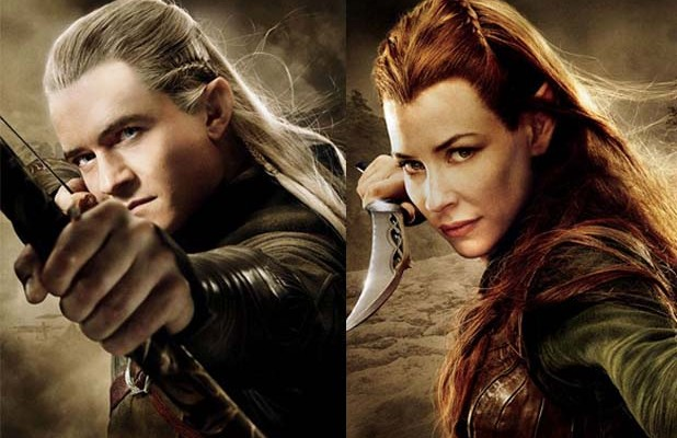 Orlando Bloom, Evangeline Lilly Prepare for Battle in 7 New 'Hobbit: Desolation of Smaug' Character Posters (Photos)