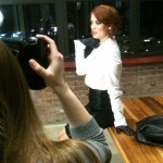 Fierce. Kelly Kirstein and Photographer Laur Nash On Location at The M@dison Building in Downtown Detroit.