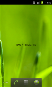 tips on Creating Widgets android
