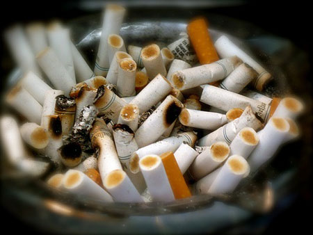 Does smoking help you stay slim?