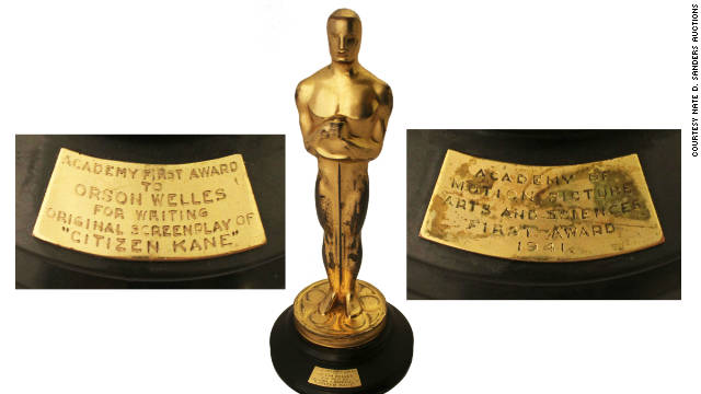 Orson Welles won the Academy Award for best screenplay in 1941 for the film