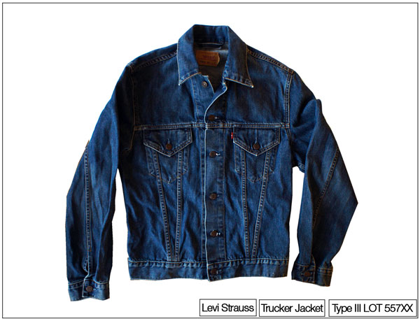 Levi's Type III jacket also known as trucker jacket. Owner Kenneth buddha Jeans