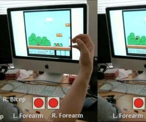 DIY Biofeedback Game Controller Uses Your Guns to Find the Princess