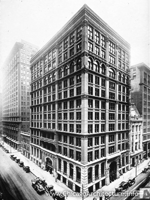 Photo of The Home Insurance Building in Chicago, Illinois