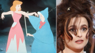 """Actress Helena Bonham-Carter, right, has been cast as the fairy godmother in Disney's upcoming live-action """"Cinderella"""" film. (Disney; Wally Skalij / Los Angeles Times)"""
