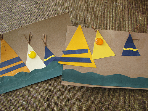 kids teepee crafts