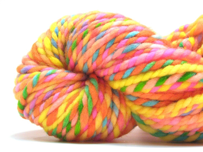 super bulky rainbow yarn
