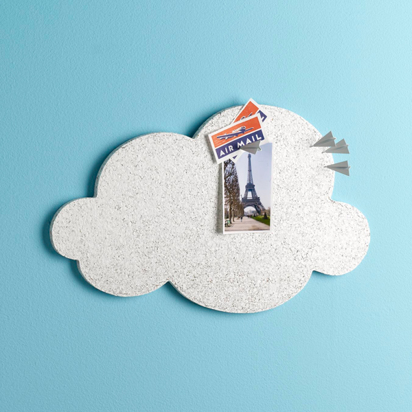 cloud cork board