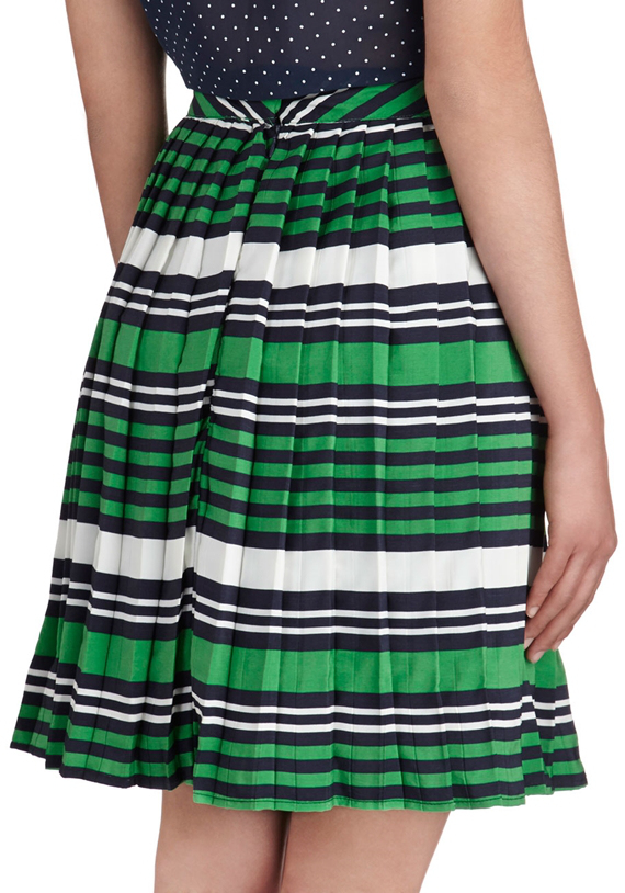 modcloth school day after day skirt