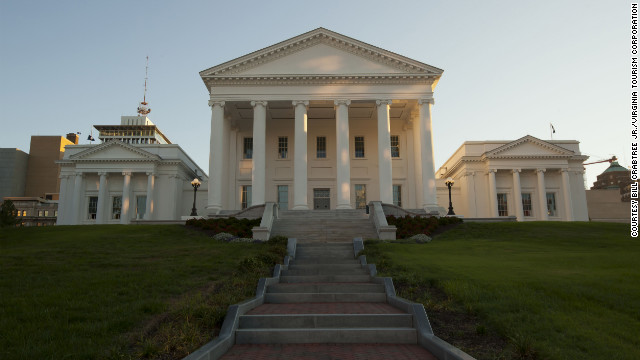 """In """"Lincoln,"""" the Virginia Capitol stands in for the U.S. Capitol."""