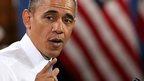 US President Barack Obama in San Francisco. 25 Nov 2013