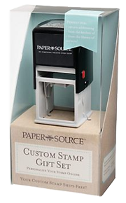 [ Paper Source Custom Stamp ]
