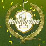 Getting a hole in one in Powerstar Golf on the Xbox One!