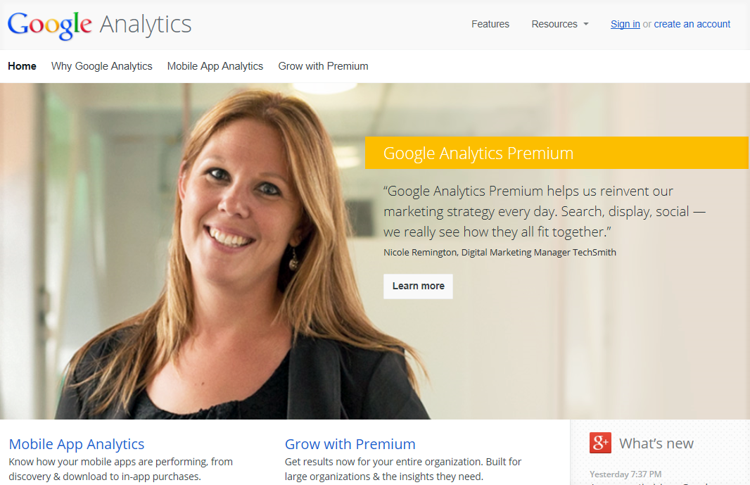 get Google US search traffic using analytics