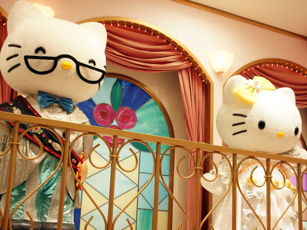 Yes, there's even a Hello Kitty amusement park: Sanrio Puroland.