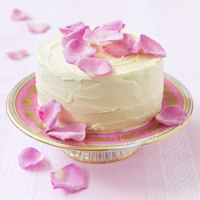 sugared rose petal cake juliet stallwood the icing on the cake recipe book review