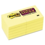 Post-it Super Sticky Note MMM62210SSCY