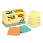 Post-it Pop-up Notes Value Pack in Canary Yellow plus 4 FREE Neon Pads MMMR330144B