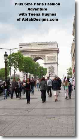 Join Teena Hughes in Paris for the Plus Size Fashion Adventure