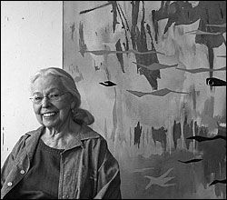 Phyllis Wiener, one of the first female painters in Minnesota's abstract art movement