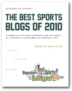 BallHyped Best Sports Blogs Book