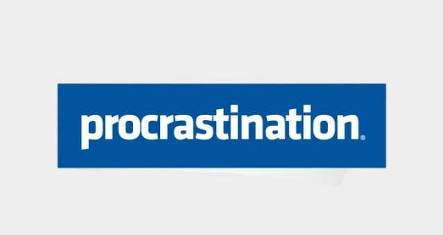 using procrastination