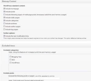 google xml sitemap configuration 4
