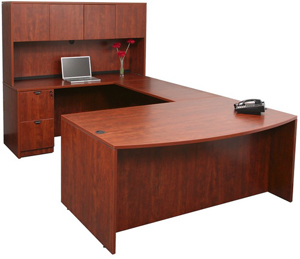 u shaped desk