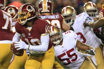 Monday Night Football 49ers Redskins November 25