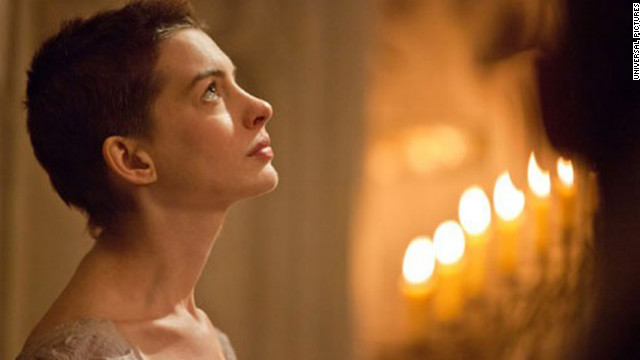 """Anne Hathaway is widely considered a lock for Best Actress in a Supporting Role, even though her competition includes Amy Adams for """"The Master,"""" Sally Field for """"Lincoln,"""" Helen Hunt for """"The Sessions"""" and Jacki Weaver for """"Silver Linings Playbook."""" Hathaway has been sweeping the Golden Globes, SAG, Critics' Choice and BAFTA Awards, but she's not entirely unbeatable: She did not win the other critics' group awards (which honored Field and Adams instead). And Hathaway is nervous. """"I mean, getting up in front of the entire world, trying not to look like a fool?"""" she said. """"Nothing outside the ordinary!"""""""