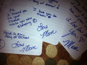 letters from mom for kids mailboxes