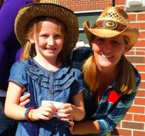 Cowboy Wild West themed walkathon school fundraiser
