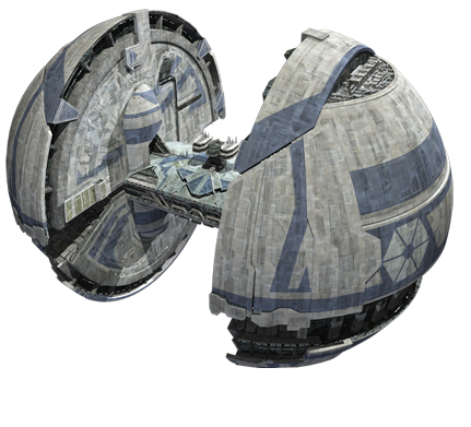 Separatist supply ship
