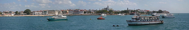 A view of Zanzibar