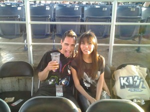 Seeing KISS and Motley Crue with my Honey!