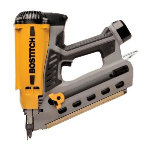 Bostitch GF28WW wire-weld cordless framing nailer.