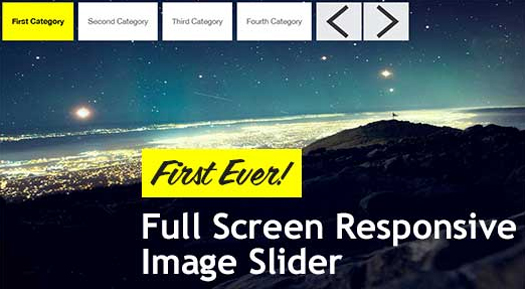 Full Screen Responsive jQuery Image and Content Slider - RSlider