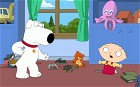 Brian and Stewie in American sitcom Family Guy