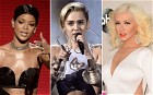 Featuring Rihanna, Miley Cyrus and Christina Aguilera