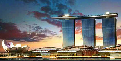Singapore Entertainment Temple Marina Bay Sands Casino