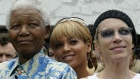 Obit Mandela Celebrities