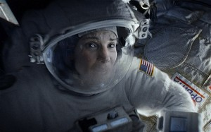 A space-survival thriller: Sandra Bullock in 'Gravity'