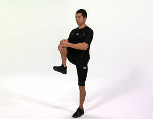 Hip Flexor Pain Diagnosis knee to chest test