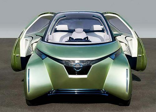Компактный городской электромобиль будущего Nissan Pivo 3 Concept