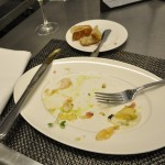 After appetizer--all gone