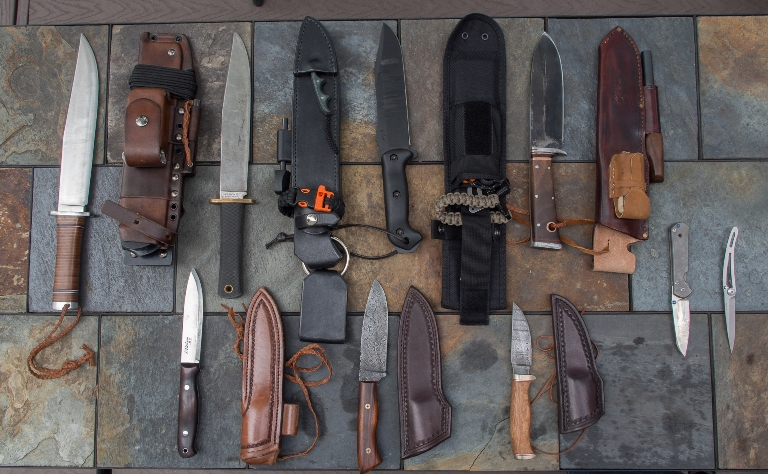 types of survival knives