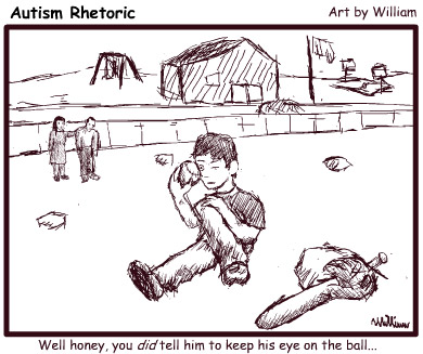 Autism Rhetoric - Eye on the Ball