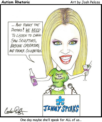 Autism Rhetoric - Jenny McCarthy Speaks
